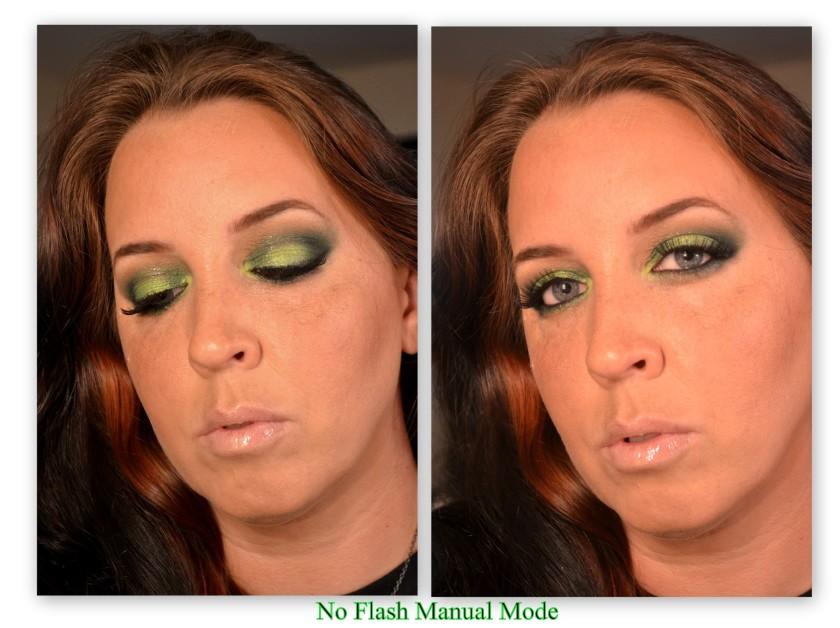 Green No flash M
