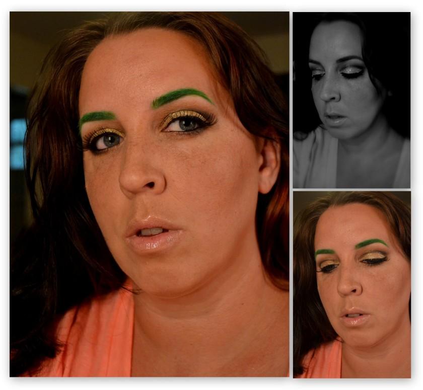 Green brow
