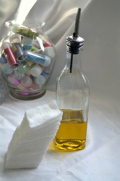 EVOO makeup remover