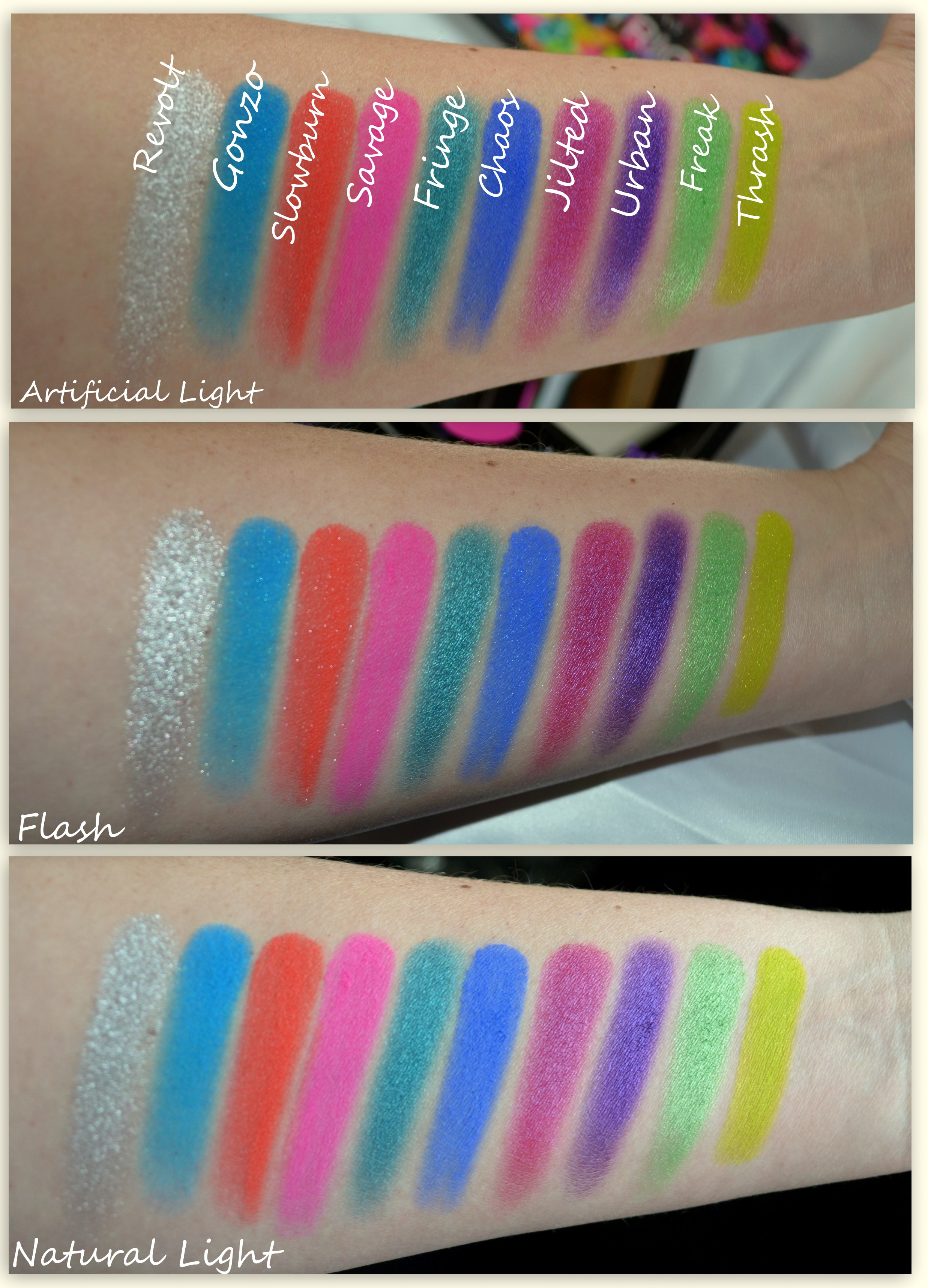 Review: Urban Decay Electric Pressed Pigment Palette