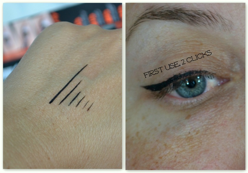 Push Up Liner Swatch and First Use