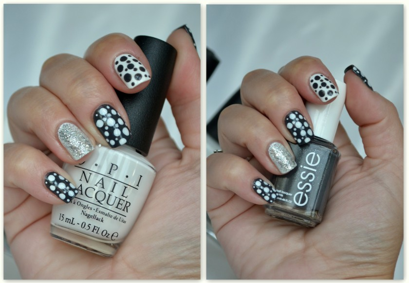 White and Grey Dots 2